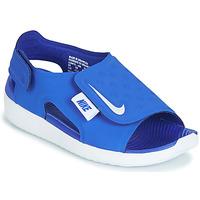 Čevlji  Dečki Sandali & Odprti čevlji Nike SUNRAY ADJUST 5 Modra