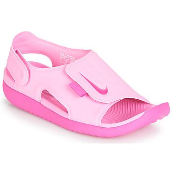 Čevlji  Deklice Sandali & Odprti čevlji Nike SUNRAY ADJUST 5 Rožnata